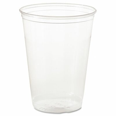 SOLO Cup Company Ultra Clear PETE Cold Cups, Individually Wrapped, 10oz, 500/Carton SCCTP10DW