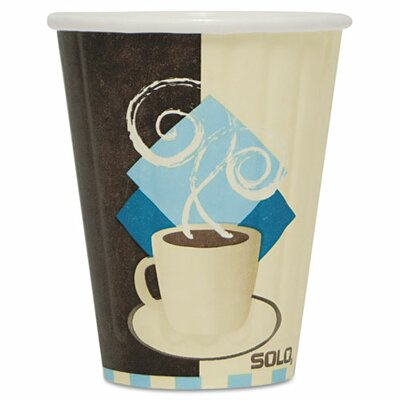 Duo Shield 8 oz. Insulated Paper Hot Cup SCCIC8J7534PK