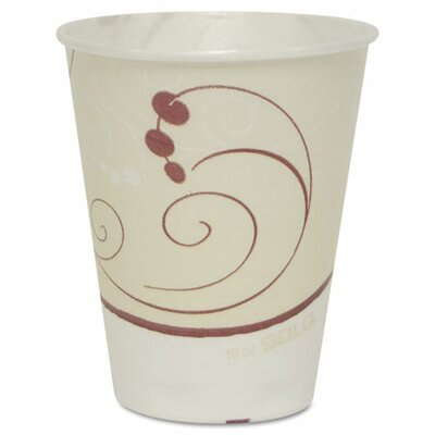 Symphony Trophy Foam 10 oz. Hot/Cold Drink Cups SCCOFX10NJ802CT