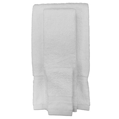 Spa and Comfort 4 Piece Towel Set Color: White