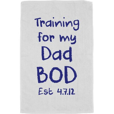 Personalized Training Dad Bath Towel