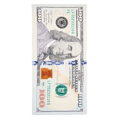 New $100 Bill Beach Towel