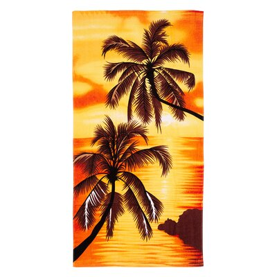 Palm Tress Beach Towel