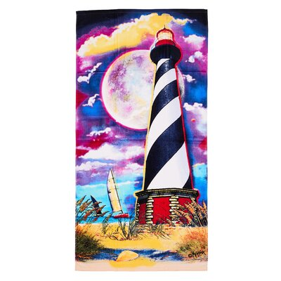 Light House Beach Towel