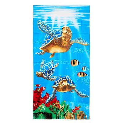 Claudius Sea Turtles Beach Towel
