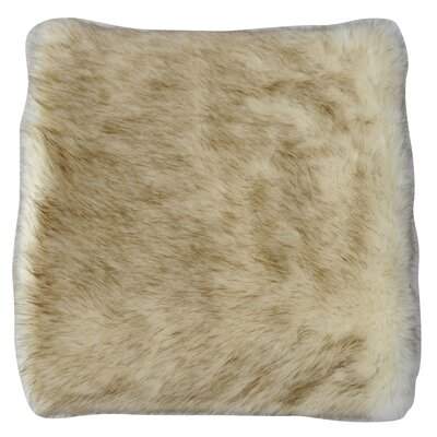 Faux Fur Animal Throw Blanket Color: Moment
