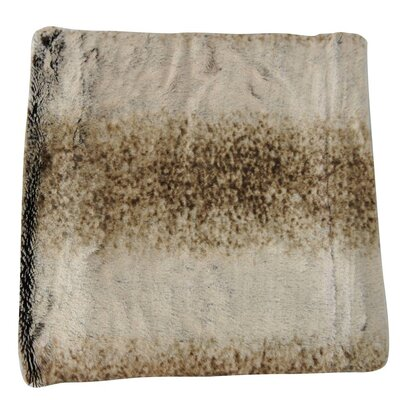 Faux Fur Animal Throw Blanket Color: Eternity