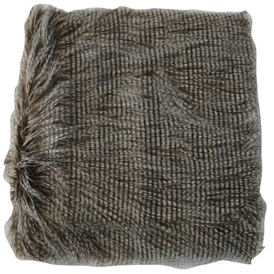 Faux Fur Animal Throw Blanket Color: Carolina