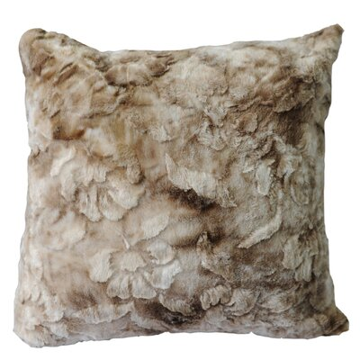 Brushed Plush Throw Pillow