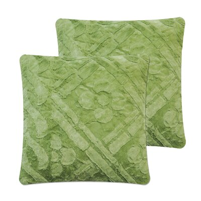 Brushed Pillow Cover Color: Green