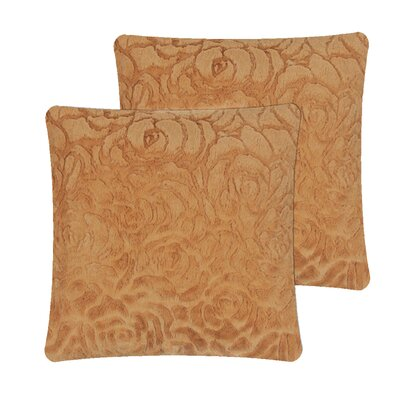 Williamstown Brushed Pillow Cover Color: Chocolate