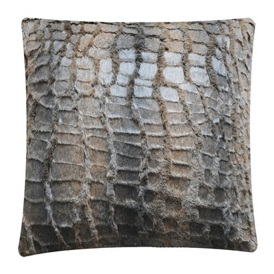 Animal Print Throw Pillow Color: Snake
