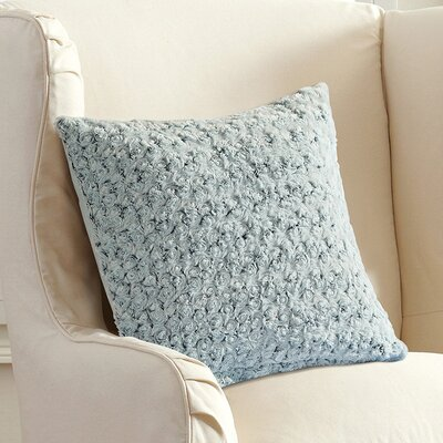 Welford Plush Throw Pillow Color: Sky Blue