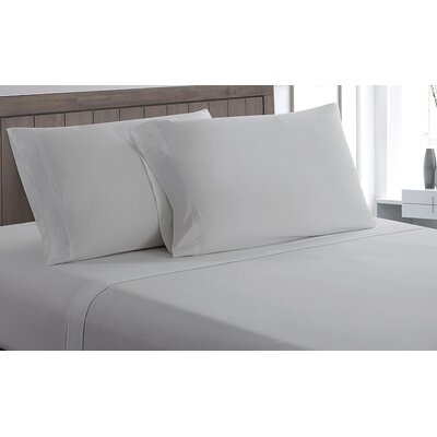 Carlinville 100% Cotton Sheet Set Size: Twin, Color: Gray