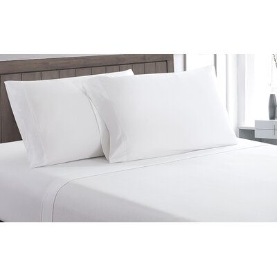 Carlinville 100% Cotton Sheet Set Size: Full, Color: White