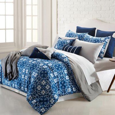 Rhodes Ikat 16 Piece Reversible Bed-In-a-Bag Set