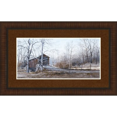 Kissin' Bridge by Ray Hendershot Framed Photographic Print 1956