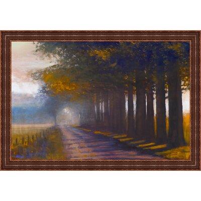 Sunset Highway by Amanda Houston Framed Painting Print 3458