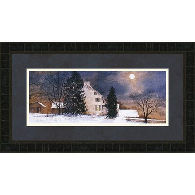 Cold Night by Ray Hendershot Framed Painting Print 3512