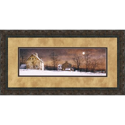 Mill Moon by Ray Hendershot Framed Painting Print 3515