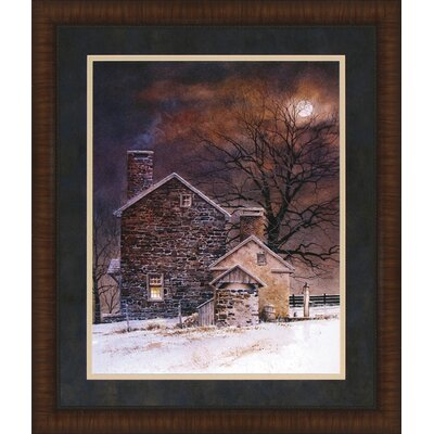 Blue Moon by Ray Hendershot Framed Photographic Print 3558