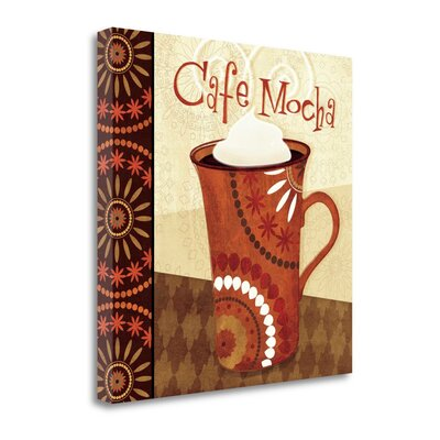 "'Cup of Joe III' Graphic Art Print on Wrapped Canvas Size: 20"" H x 20"" W WA610382-2020c"