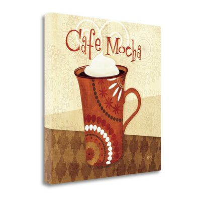 'Cup of Joe III' by Veronique Charron Graphic Art on Wrapped Canvas WA610927-1818c