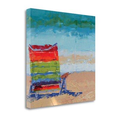 'At The Beach' Print on Canvas SBLT1385-2020c