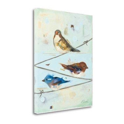 'Balancing Act I' by Ninalee Irani Painting Print on Wrapped Canvas SBNN1011-1620c