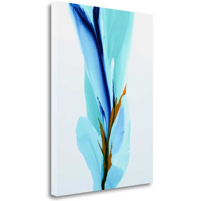 """'Spring's Calling Card' Graphic Art Print on Wrapped Canvas Size: 29"""" H x 21"""" W ICC1110D-2129c"""