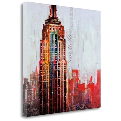 'The City That Never Sleeps I' by Markus Haub Graphic Art on Wrapped Canvas CA316324-2020c