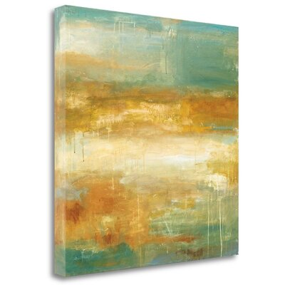 """'Golden Possibilities' Print on Wrapped Canvas Size: 20"""" H x 20"""" W CAPWP132-2020c"""