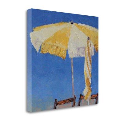 'At The Beach' Print on Canvas SBLT1387-2020c