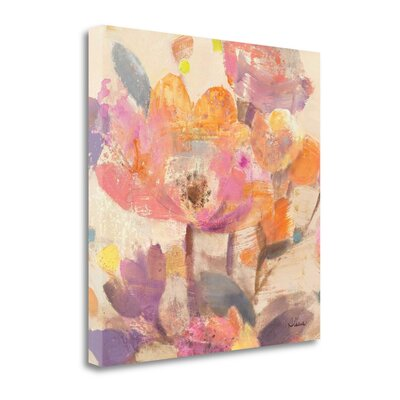 'Vibrant Crop I' by Albena Hristova Painting Print on Wrapped Canvas WA614617-3030c