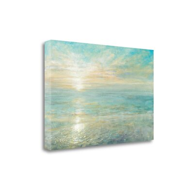 'Sunrise' by Danhui Nai Painting Print on Wrapped Canvas WA618930-3423c