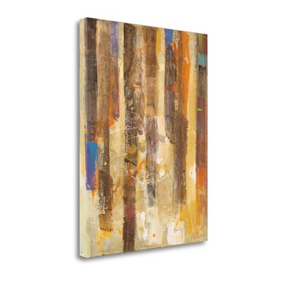 "'Golden Forest II' Print on Canvas Size: 28"" H x 21"" W WA620046-2128c"