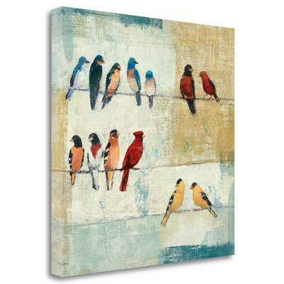 'The Usual Suspects' Print on Canvas WA610334-1818c