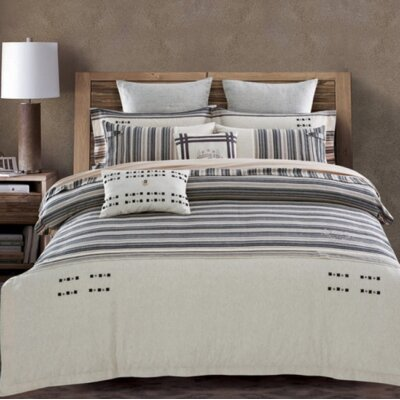 Bayadere 3 Piece Duvet Cover Set Size: Queen
