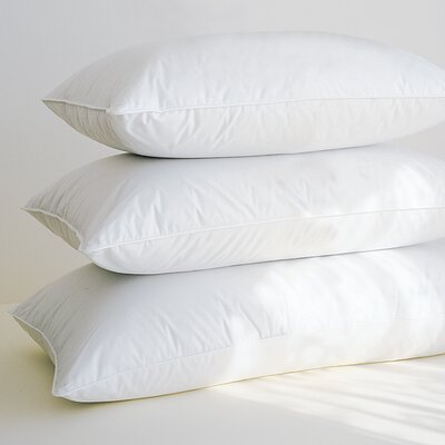 100% Down Pillow Size: Standard