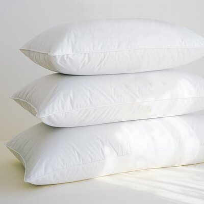 Supremium Extra-Fill Hungarian 100% Down Pillow Size: Queen