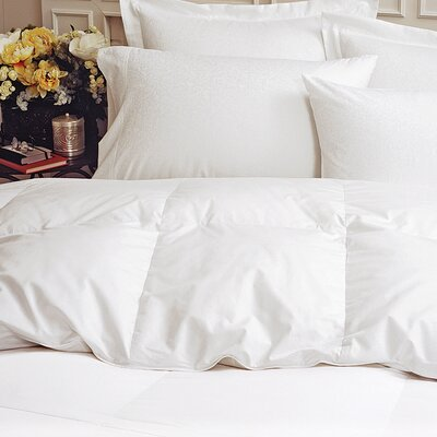 Heavyweight Down Comforter Size: Queen