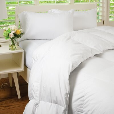 Heavywight Down Comforter Size: Queen