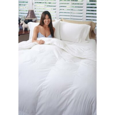 Heavyweight Down Alternative Comforter Size: King