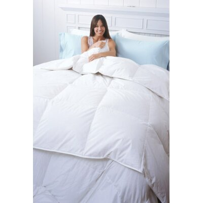 Sierra Heavyweight Down Comforter Size: King