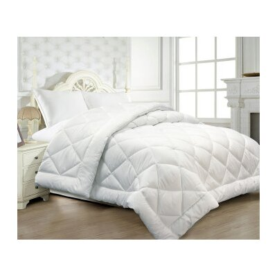 Seersucker Lightweight Down Alternative Comforter Size: Full/Queen