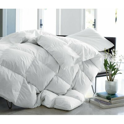 Deluxe Lightweight Down Comforter Size: Full/Queen