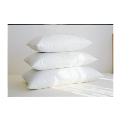 Soft White Down Pillow Size: King