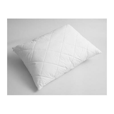 Quilted Wool Pillow Size: Standard