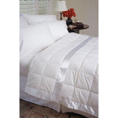 Gervais 100% Cotton Blanket Size: Full/Queen, Color: White