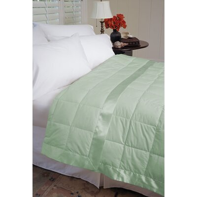 Gervais 100% Cotton Blanket Size: Twin, Color: Sage